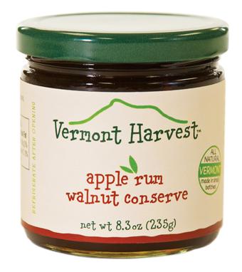 Apple Rum Walnut Conserve for Sale
