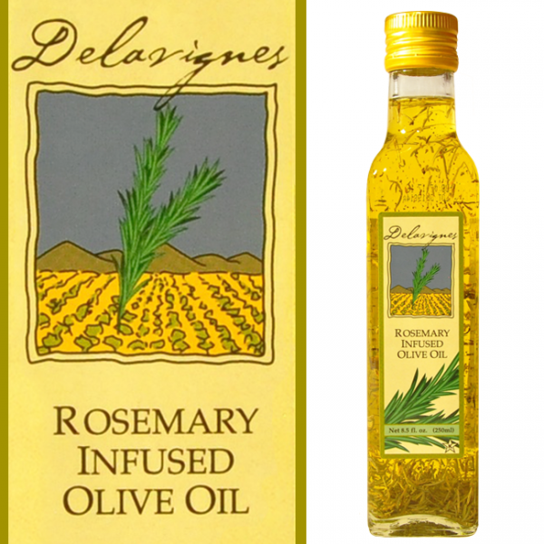 Delavignes Rosemary Infused Olive Oil - Vermont Harvest